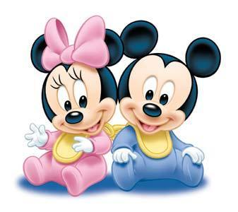 Minnie et mickey baby - Photo minnie et mickey bebe ...
